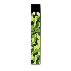 Shop Green Camouflage Juul-Wrap